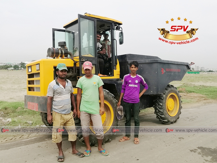 SPV Minidumper using in Bangladesh