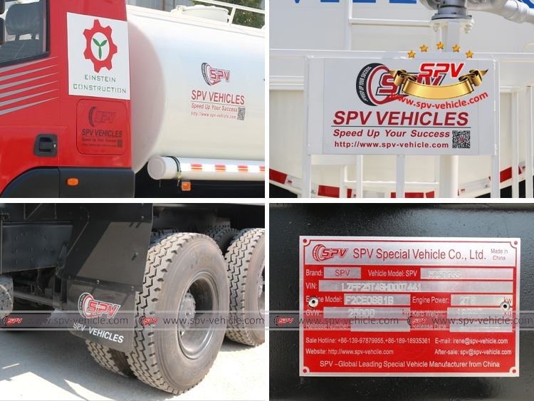 Water Spraying Truck IVECO - Details