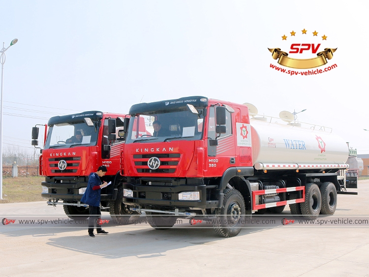 Water Spraying Truck IVECO - Final Test
