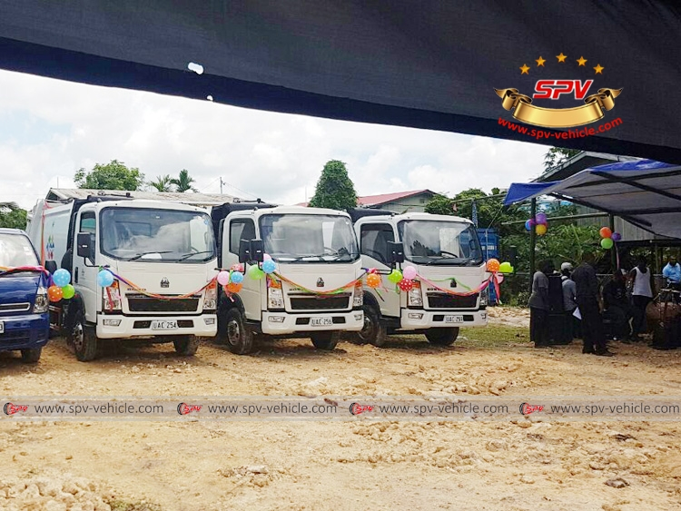 SPV Garbage Compactor Trucks in PNG