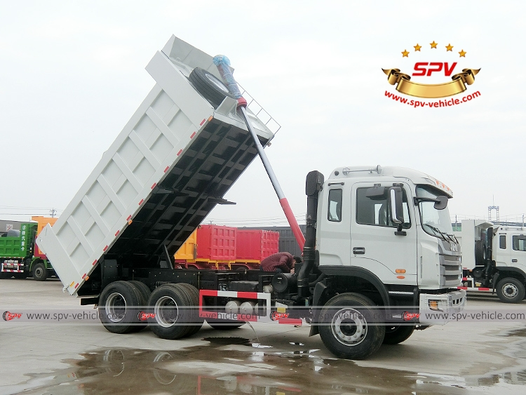 Dump Tipper Truck JAC - RF -  Lifting