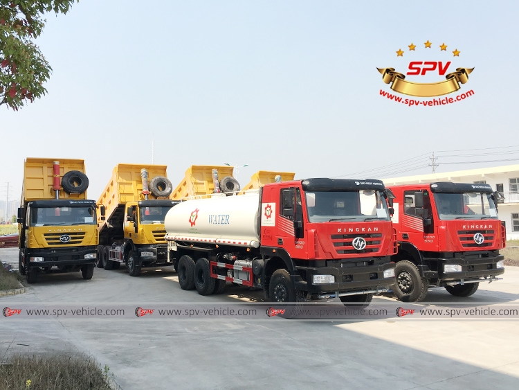 To Malawi - 6 units of IVECO Trucks -RF