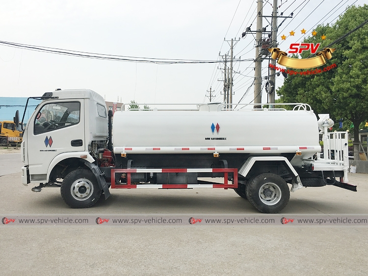 To Philippines - 6,000 litres Water Sprinkling Truck - LS