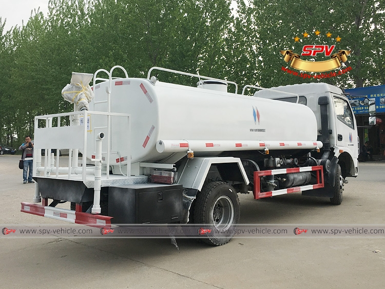 To Philippines - 6,000 litres Water Sprinkling Truck - RB