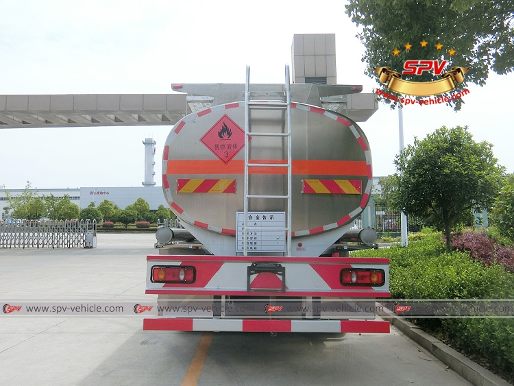 15,000 Litres Stainless Steel Fuel Bowser - Dongfeng - B