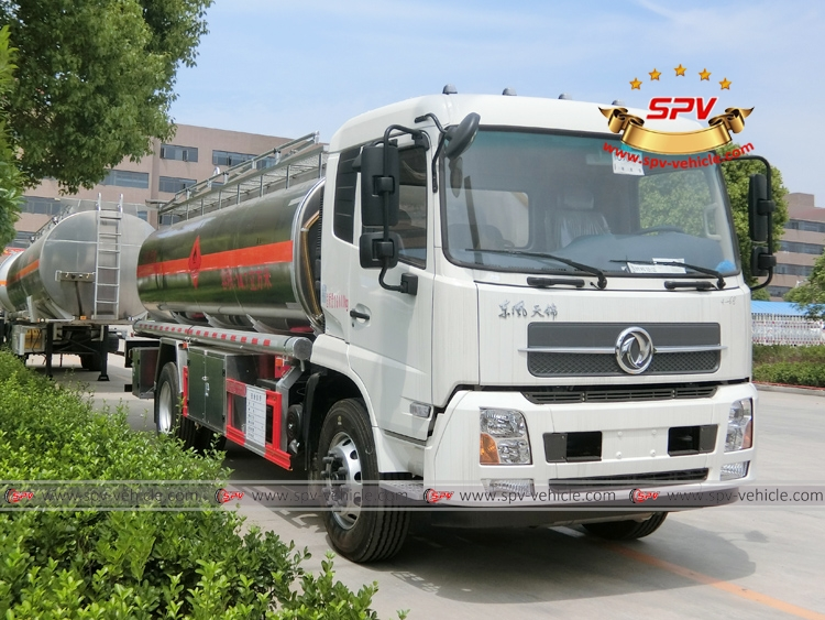 15,000 Litres Stainless Steel Fuel Bowser - Dongfeng - RF