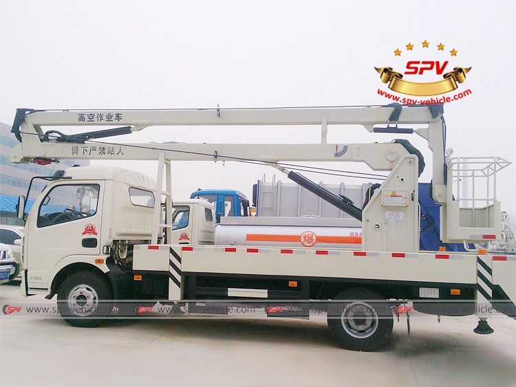 Aerial Truck with Busket Dongfeng - LS