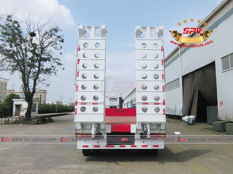Extendable Flatbed Semi-trialer - B