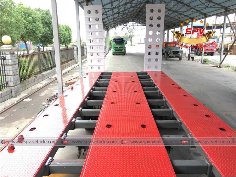 Extendable Flatbed Semi-trialer - Extension