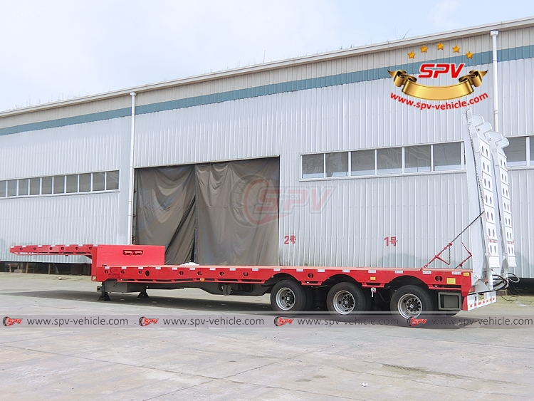 Extendable Flatbed Semi-trialer - LB
