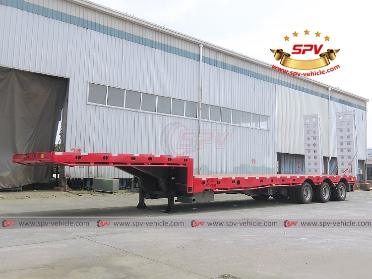 Extendable Flatbed Semi-trialer - LF
