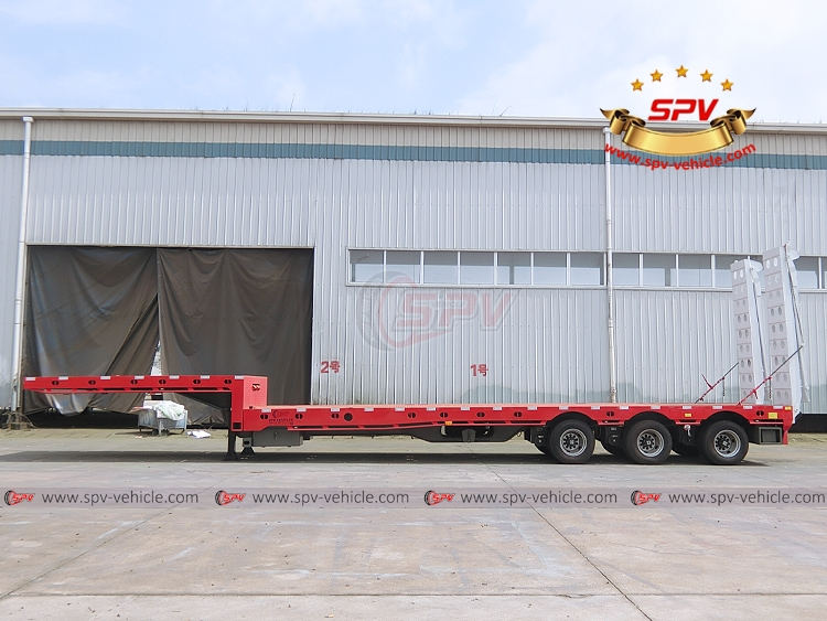 Extendable Flatbed Semi-trialer - LS
