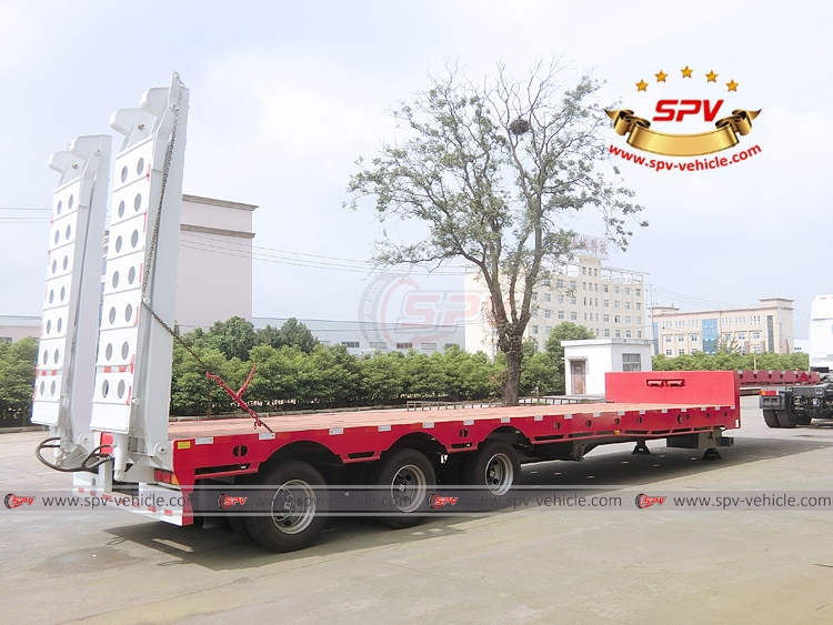 Extendable Flatbed Semi-trialer - RB