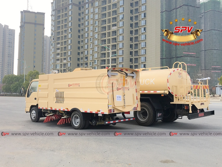 Sweeping Truck and Water Truck ISUZU - LB