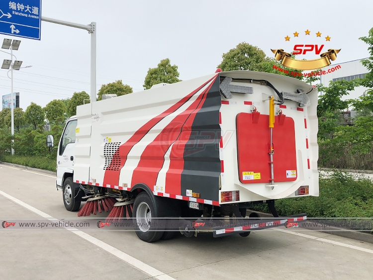 Road Sweeper ISUZU - LB