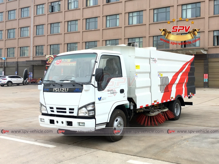 Road Sweeper ISUZU - LF