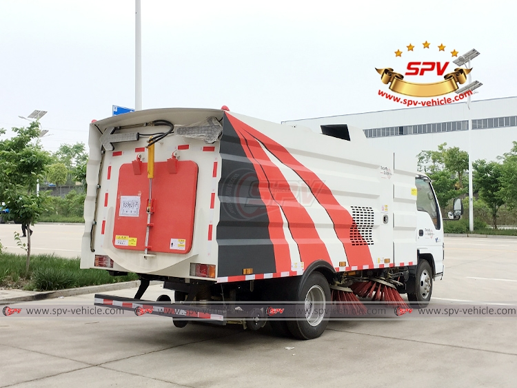 Road Sweeper ISUZU - RB