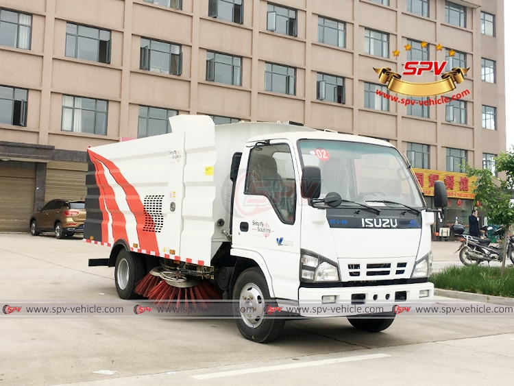 Road Sweeper ISUZU - RF