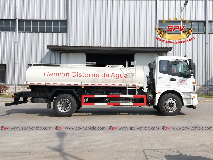 Water Tank Truck FOTON - RS