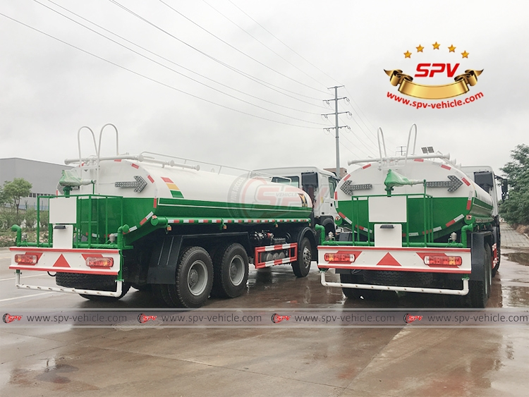 25,000 litres Water Spraying Bowser Sinotruk - RB