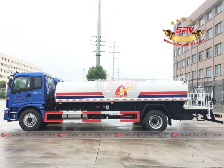 Water Tank Lorry FOTON - 10,000 litres - LS