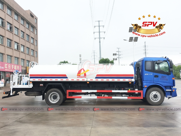 Water Tank Lorry FOTON - 10,000 litres - RS