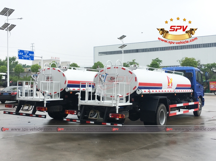 Water Tank Lorry FOTON - 10,000 litres - RB