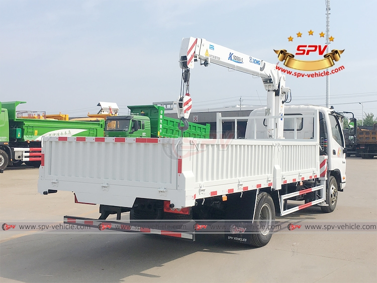 3.2 Tons Truck Mounted Crane FOTON - RB