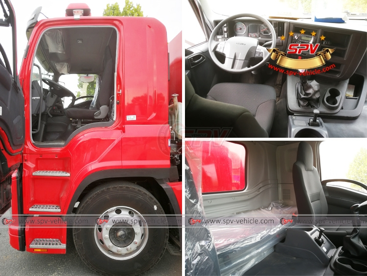 Fire Engine ISUZU - Cabin