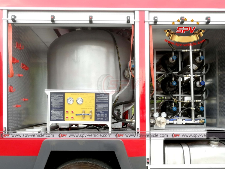 Fire Engine ISUZU - Dry Powder System