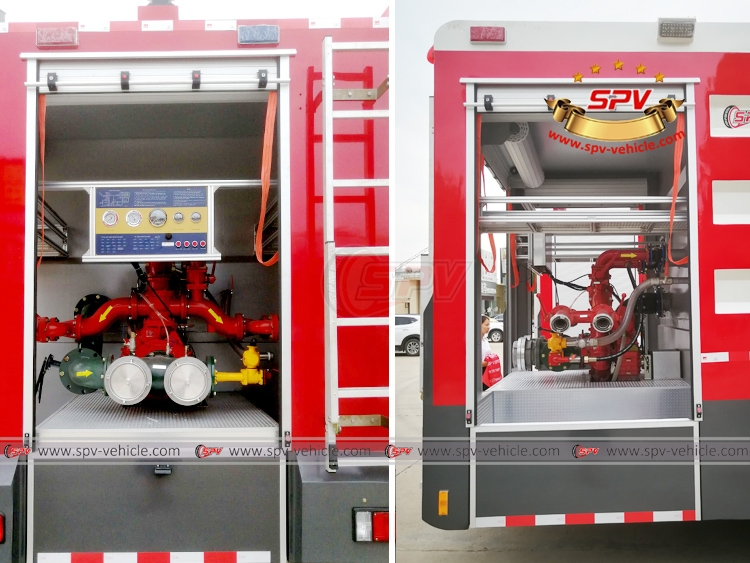 Fire Engine ISUZU - Fire Pump System