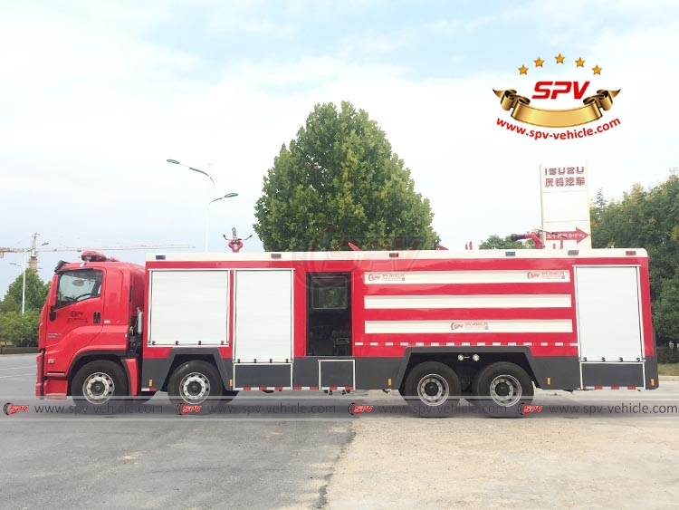 Fire Engine ISUZU - LS