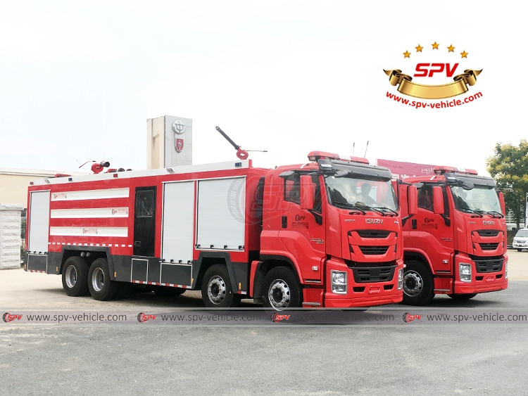 Fire Engine ISUZU - RF