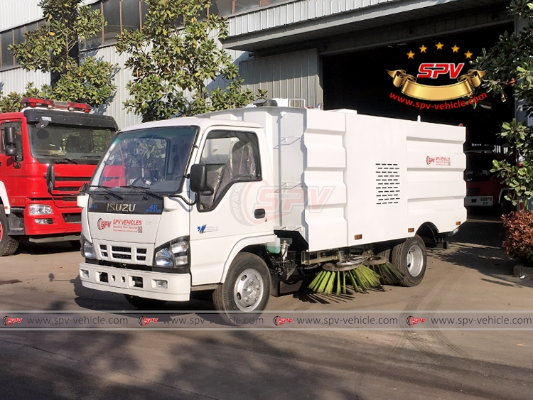 Road Sweeper Truck ISUZU - LF