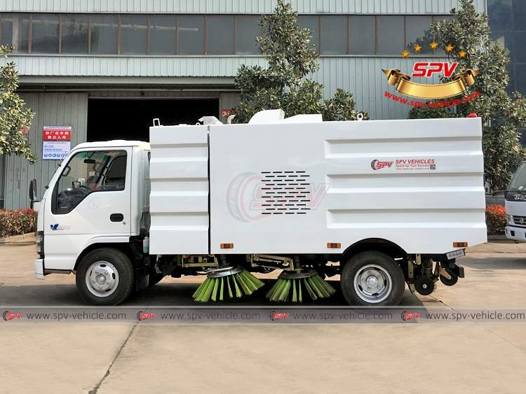 Road Sweeper Truck ISUZU - LS