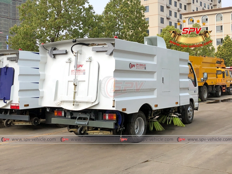 Road Sweeper Truck ISUZU - RB