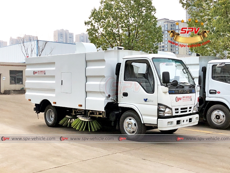 Road Sweeper Truck ISUZU - RF