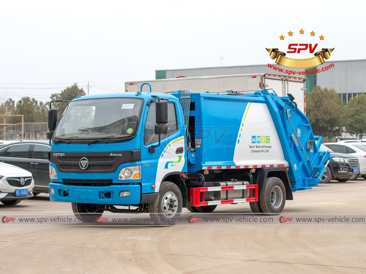 Garbage Compactor Truck FOTON - LF