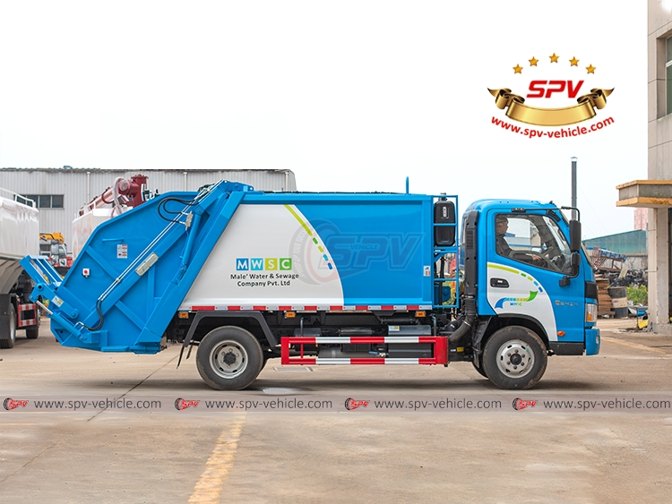 Garbage Compactor Truck FOTON - RS