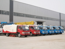 Road sweepers six units are delivered to Bangladesh in April. 2013