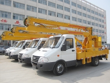 To Burma - 4 units of Aerial Platforms IVECO (10M) in 2013