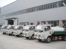 To Kazakhstan - 6 units of Water Tank Trucks (4,000 lters) in 2012