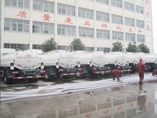 Second 50 units of Camion Cisterna (water bowsers)  to Venezuela in Jan. 2015