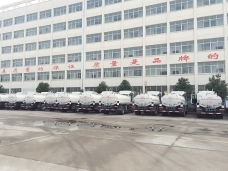First 50 units of water tanker (10,000liters) shipping out from China to Venezuela in Nov.2014
