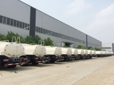 Fourth 100 units of JAC water bowsers (10,000liters) to Venezuela in May 2015