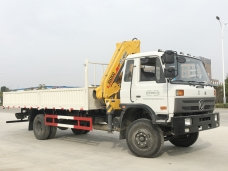 To Ghana - one unit of Dongfeng self loader truck shipping in December, 2015