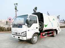 To Lebanon-one unit of ISUZU garbage compactor truck(4 CBM)  shipping on January 19th,2016