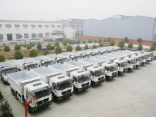 To Angola - 60 units of dump trucks in 2008