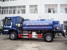 To Mozambique - 2 units of Off-road Water Tank Truck in March, 2011