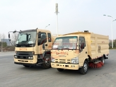 To Morocco - Road Sweeper Truck ISUZU in March, 2018